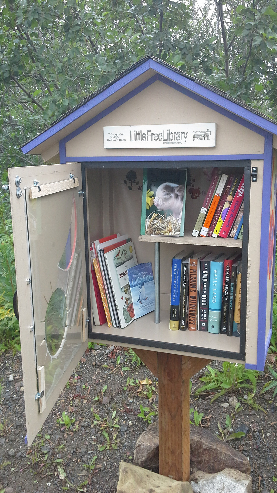 Little Free Library: 'De Boekenstal'